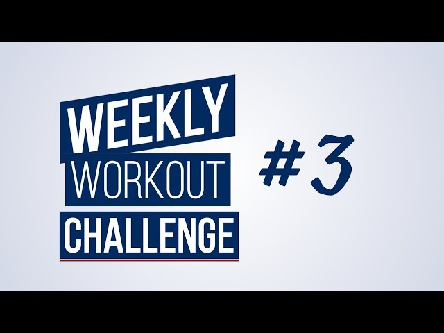 Weekly Workout Challenge #3 | Renaud Center