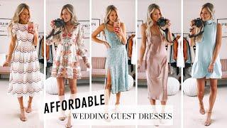 11 Spring Wedding Guest Dresses Under $100! | Affordable Spring/Summer Dresses!
