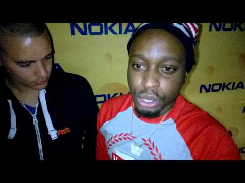 Twins on deck and Larryngitis interview for Calamity