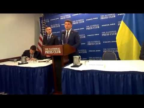 CI Ukraine questions Ukraine PM Volodmyr Groysman on currency and dividend controls #NPC