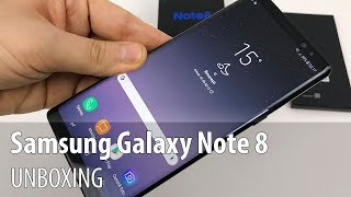Samsung Galaxy Note 8 Unboxing (6.3 inch Phablet, With S Pen, Dual Camera)