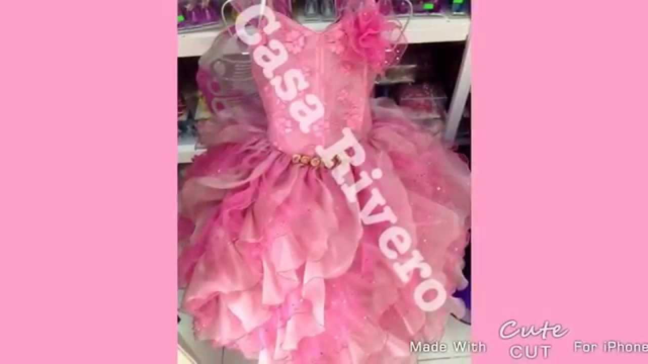Fabricamos Vestidos Graduación Kinder Casa Rivero Tel