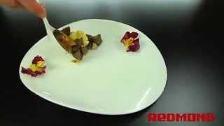 Говядина с картофелем в мультиварке Redmond RMC M4504