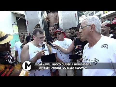 Mesa Redonda - Bloco Classe A Homenageia O Mesa Redonda (31/01/16)
