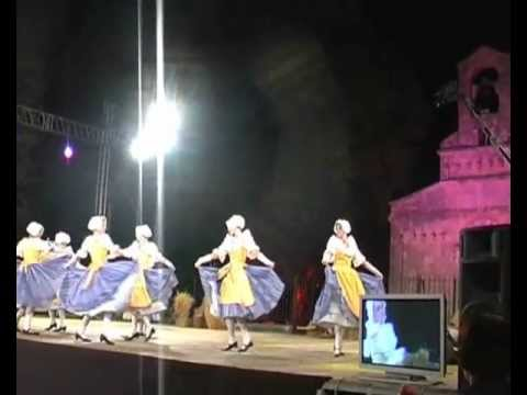 danse folklorique nicoise, oranges