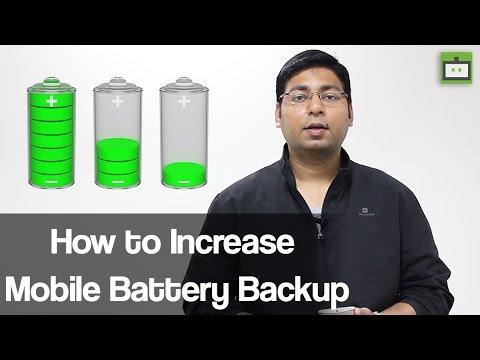 मोबाइल का बैटरी बैकप कैसे बढ़ाए, देखिए कुछ टिप्स ?