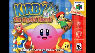 Shiver Star Map - Kirby 64: The Crystal Shards (EXTENDED)