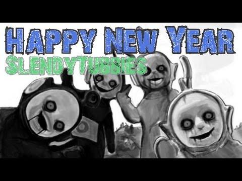 หลอนฉลองปีใหม่! Slendytubbies [Free Horror game]