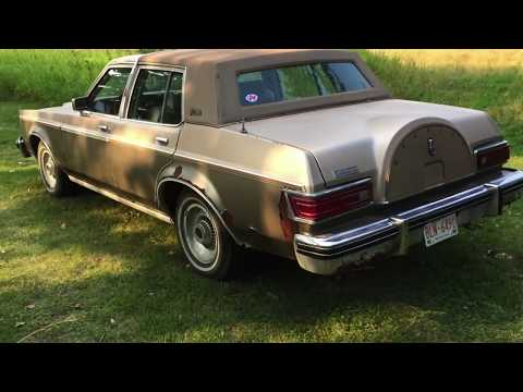 '80 Lincoln Versailles in Depth Tour