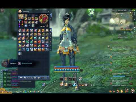 Blade & Soul Opening 24 Fortune's Favor Chest
