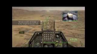 HAWX 2 Gameplay F-16 Fighting Falcon