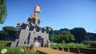 Как построить ЗАМОК В MINECRAFT! Компактная версия!(В этом видео я научу вас легкому построению настоящего замка! ПОДПИСЫВАЙТЕСЬ НА МОЙ БЛОГ: https://www.youtube.com/channel..., 2016-06-04T14:58:24.000Z)