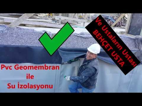 Pvc Geomembran ile Su izolasyonu Nasıl Yapılır?