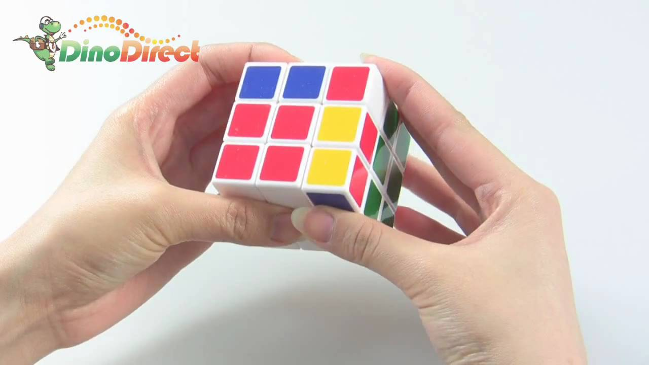 Brain Teaser Magic IQ Cube Puzzle Game Toy 3 X