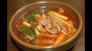 대파육개장 맛있게 끓이는방법 간단하지만 국물맛은 일품인 레시피 심방골주부