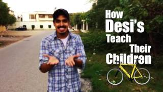 Learning to ride a bicycle ft. Zaid Ali