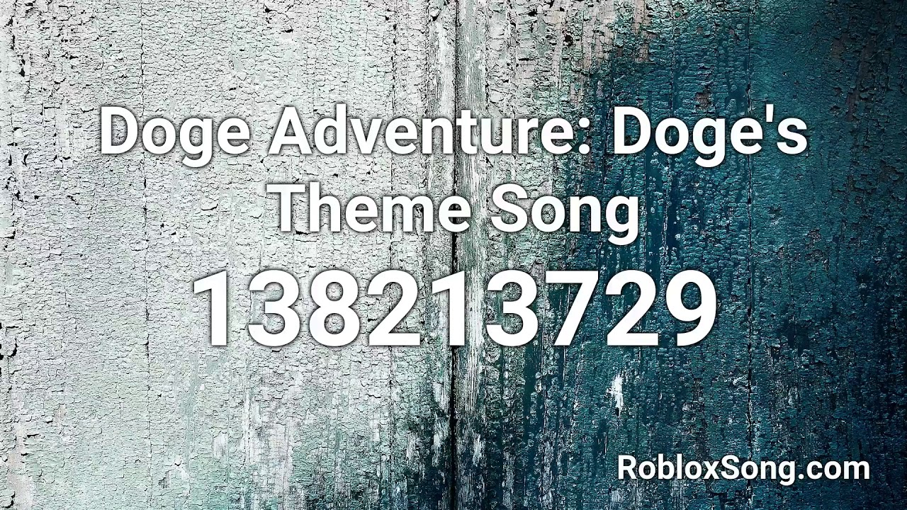 roblox doge song id