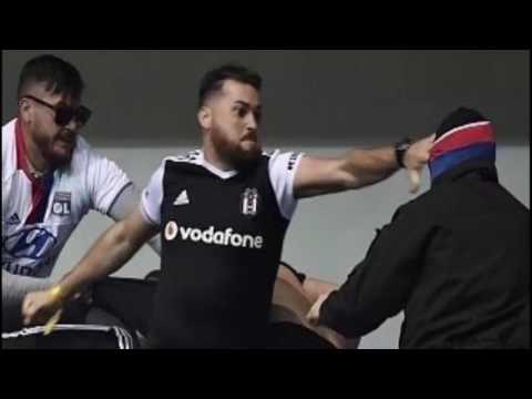 Lyon - Beşiktaş Taraftar Olayları
