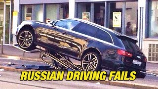 CRAZY Russian Driving Fails 2018 | How To Not Drive Your Car