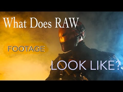 Red Hood: Retcon - What does Raw Footage Look Like? (No SFX )