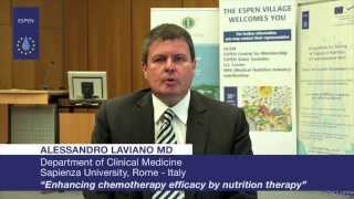 EVL - Alessandro Laviano, MD: Enhancing chemotherapy efficacy by nutrition therapy