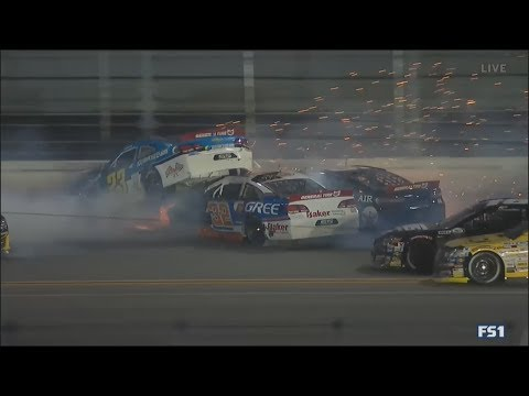 ARCA Racing Series 2018. Daytona International Speedway. Bret Holmes Huge Crash