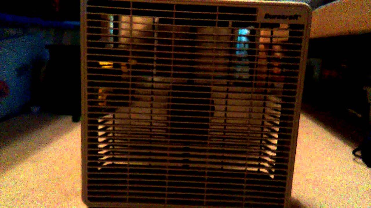 Duracraft Box Fan : Duracraft box fan youtube