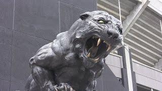Carolina Panthers Stadium (Bank of America) Charlotte NC Video HD