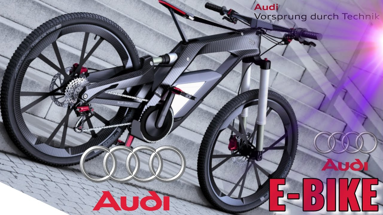 e bike audi design youtube. Black Bedroom Furniture Sets. Home Design Ideas