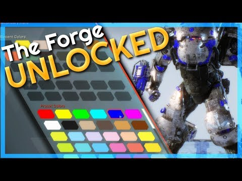 The Forge Has Been Unlocked! | Checking Out Colossus Options | Anthem #2