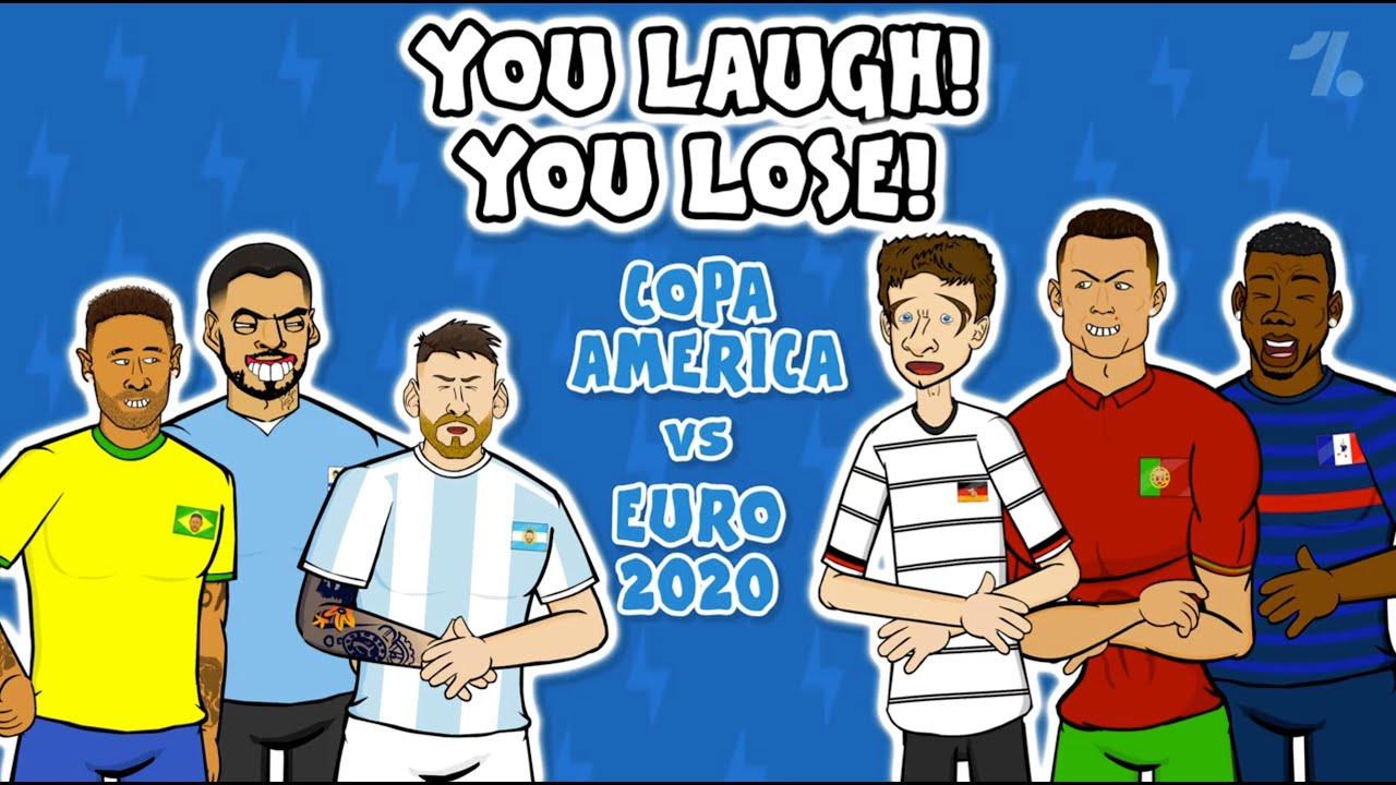 Euro 2020 vs Copa America: 442oons You Laugh, You Lose Special!