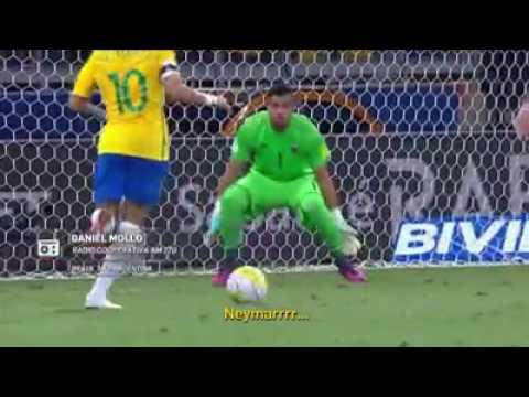 """Narrador argentino admite que Brasil joga """"o melhor futebol da América do Sul"""" após goleada"""