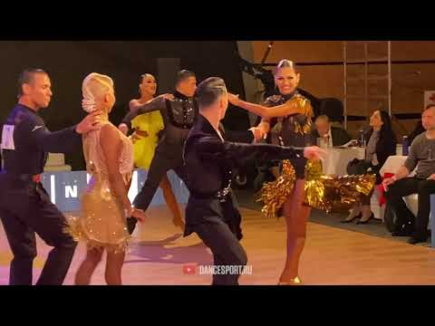 Vladislav Untu - Polina Baryshnikova, #Samba / Brno Open 2020