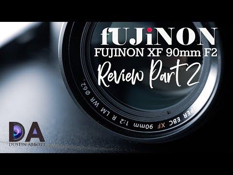 Fujinon XF 90mm F2 Review Part 2   4K