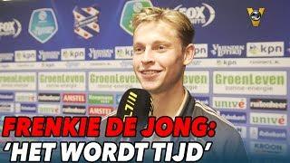 Frenkie de Jong op zoek naar doelpunten: 'Het wordt tijd' - VOETBAL INSIDE
