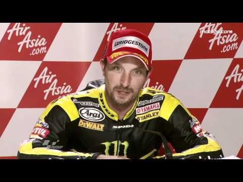 Colin Edwards interview after the Silverstone GP