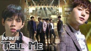 [HOT] INFINITE - Tell Me, 인피니트 - 텔미 Show Music core 20180120