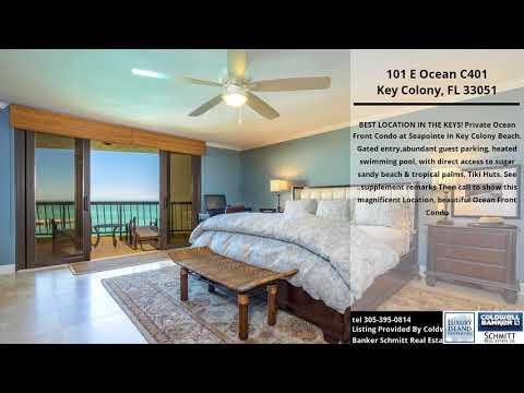Stunning Ocean Front Florida Keys Luxury Condo For Sale