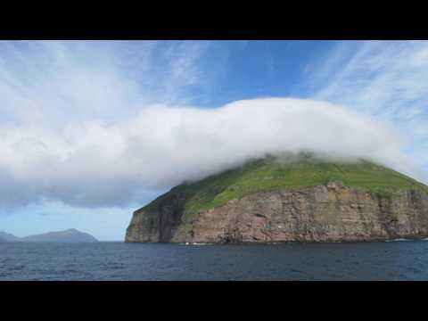 The Cloud Covered Island of Litla Dimun – Around The World