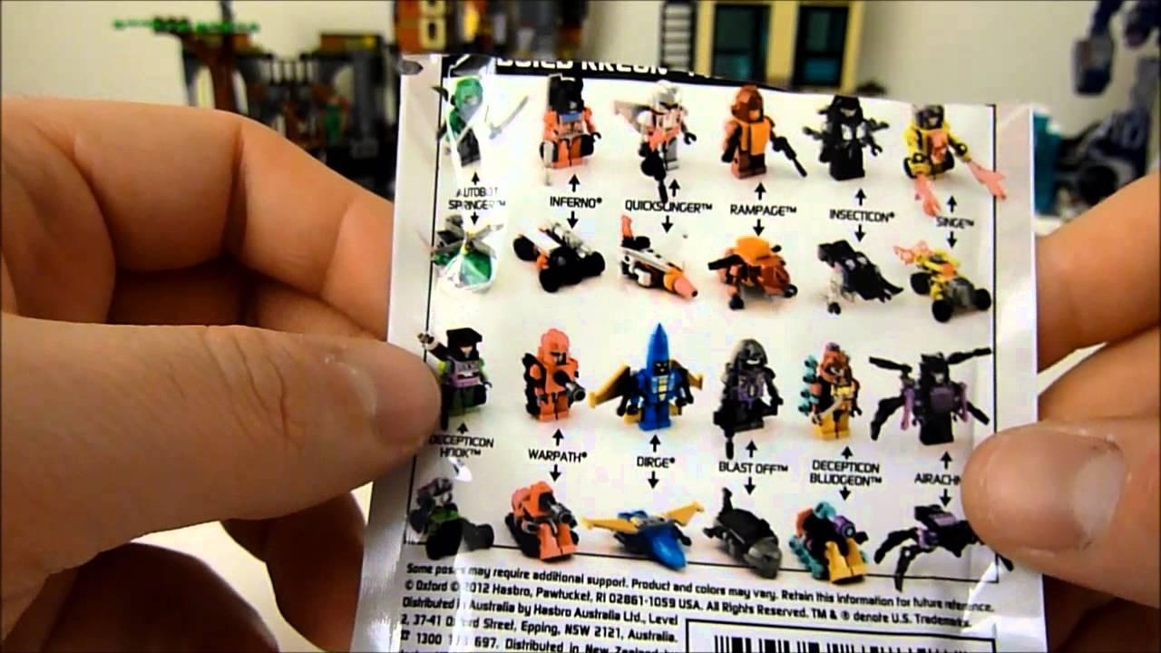 SINGE Transformers Kre-o Micro-Changers Series 1 40 Kreon New