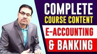 Professional DIPLOMA IN E-ACCOUNTING & BANKING 12th | Accounting Course |  Banking Course after 12th