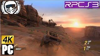 PS3 MotorStorm 1 in 4k PC (4480x2520) RPCS3 emulator