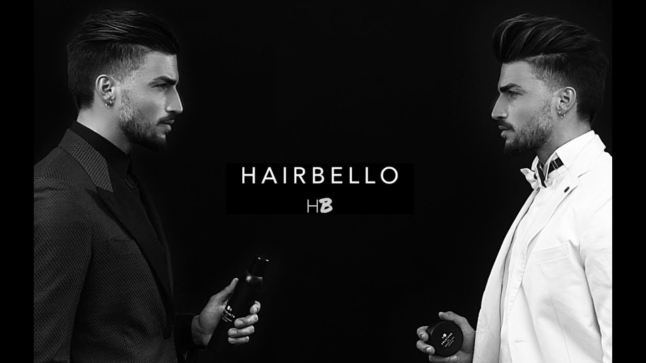 Mariano Di Vaio Hairstyle Products Hairbello Limited Edition Youtube