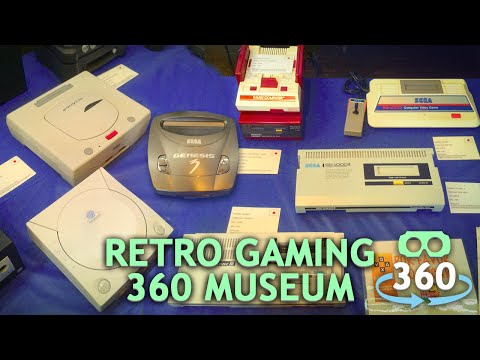 Retro Gaming Museum 360º Virtual Reality 4K #360Video #VirtualReality #VR #360