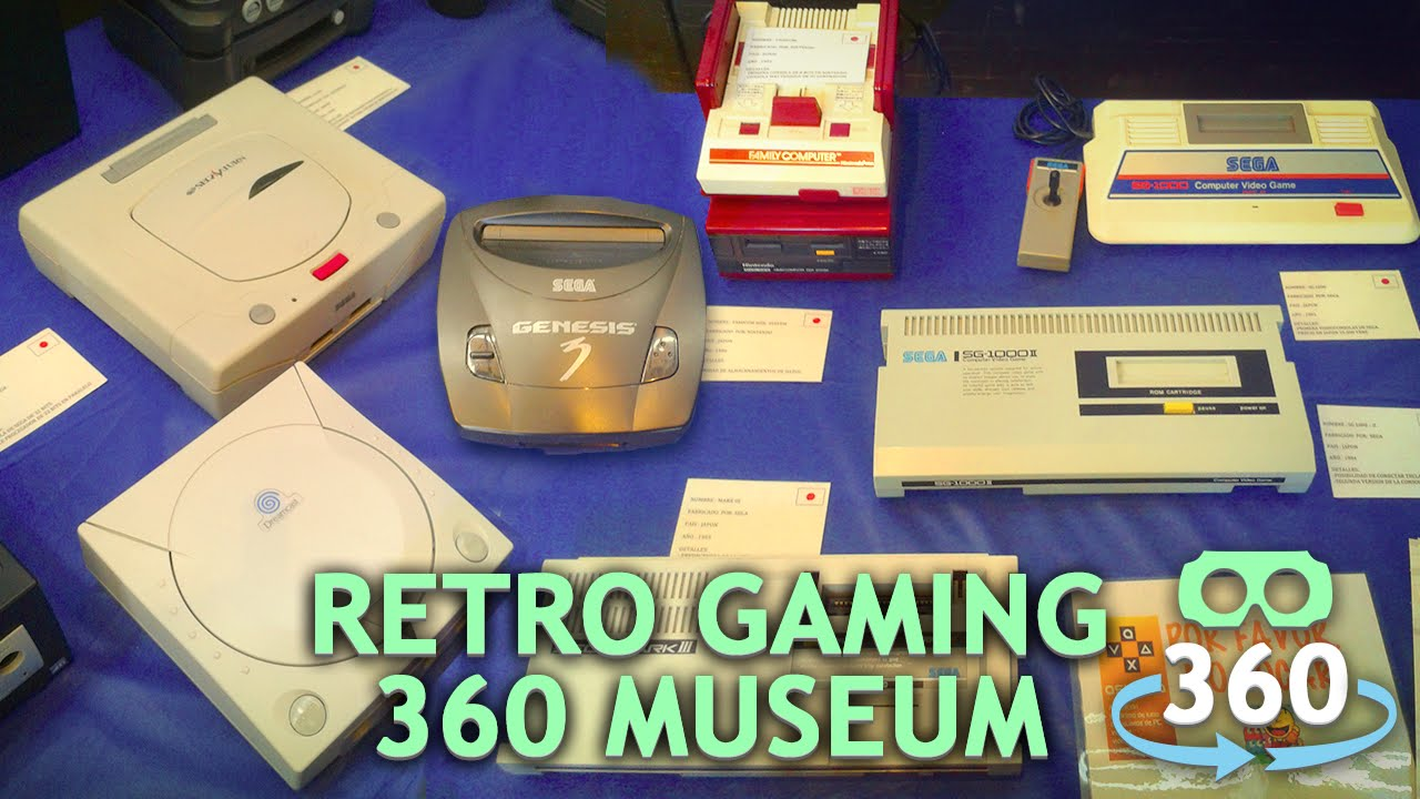 966915f2722 Retro Gaming Museum 360º Virtual Reality 4K  360Video ...