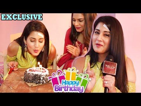 Aditi Rathore Celebrates Her Birthday With Telly Reporter | Gift Segment | Exclusive
