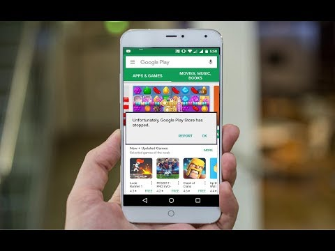How to Fix Unfortunately Google Play Store has Stopped In Android