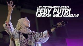 Download Feby Putri Cover   Mungkin - Melly Goeslaw   Live Performance Jember