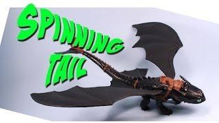 Dragons Defenders of Berk Spinning Tail Toothless