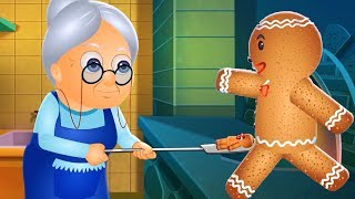 Gingerbread Man Story in Hindi | द जिंजरब्रेड मैन | Hindi Fairy Tales For Kids